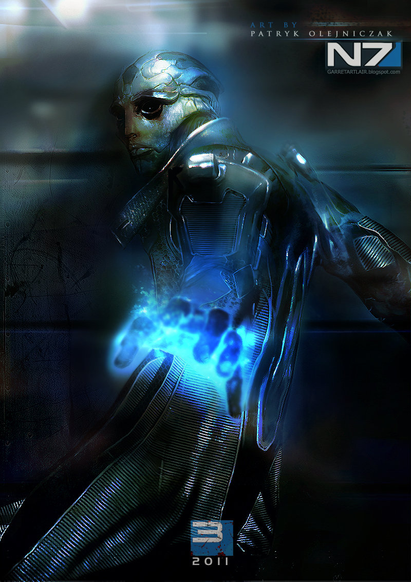 thane - incredible mass effect fan art