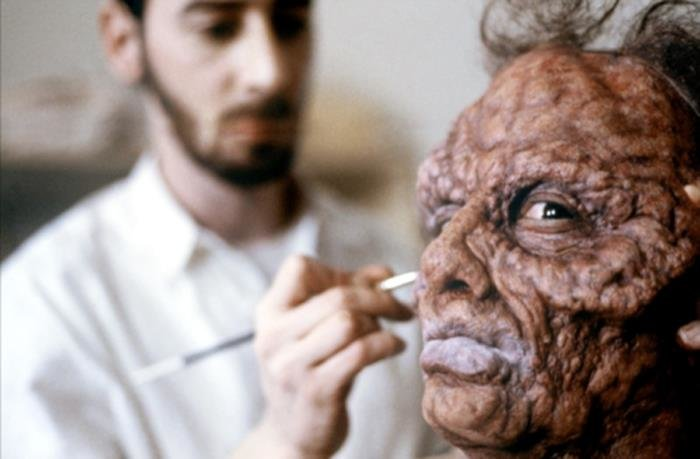 the fly - that's a cool set of old horror movie pics made behind the scenes