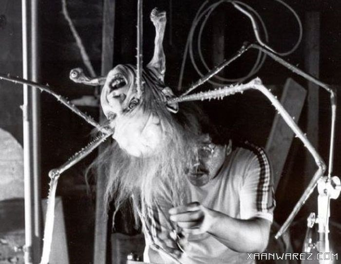 the thing - that's a cool set of old horror movie pics made behind the scenes