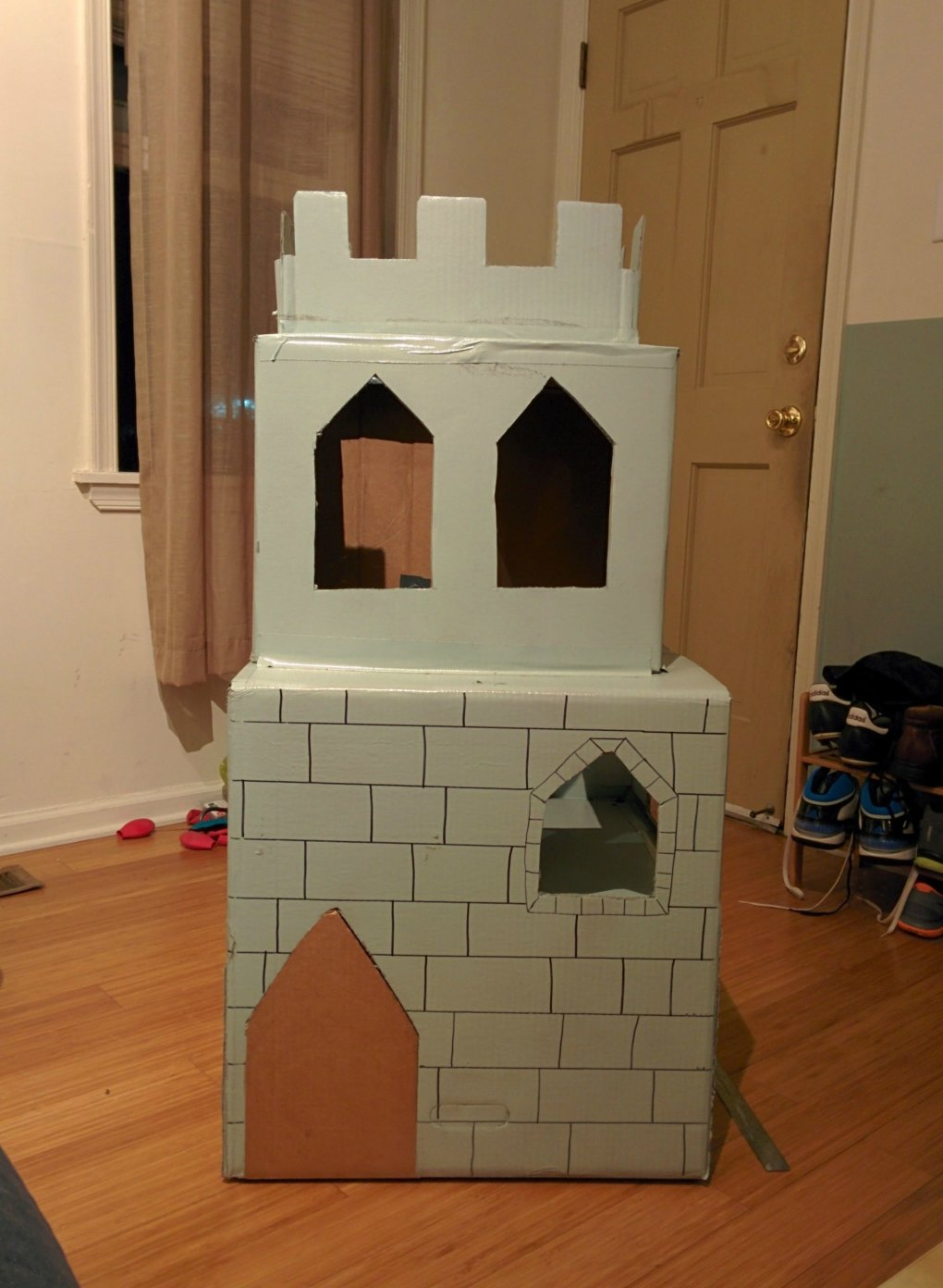 utpygqc - why don't we build cardboard castle to our cats? this is how to do it.