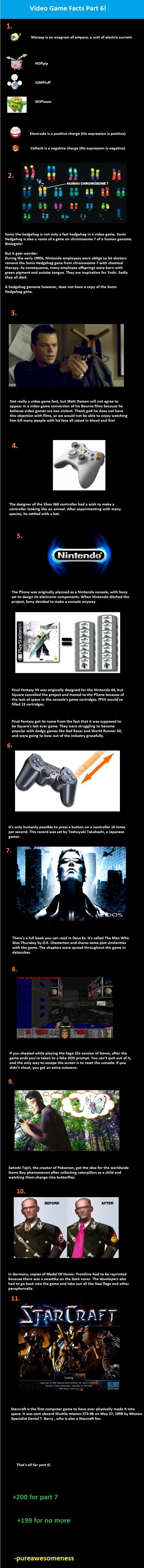untitled - weird video game facts part 6!