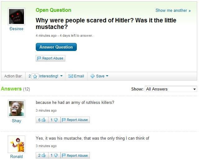untitled - why were people scared of hitler?
