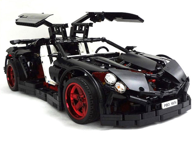 vampire gt - the most awesome lego super car models