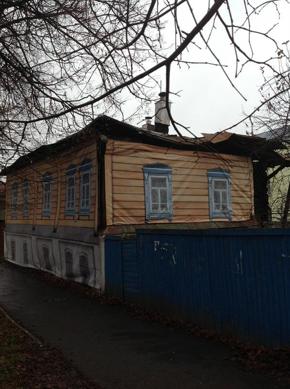 "w99y87v - russian village ""renovation"" just before putin visit"