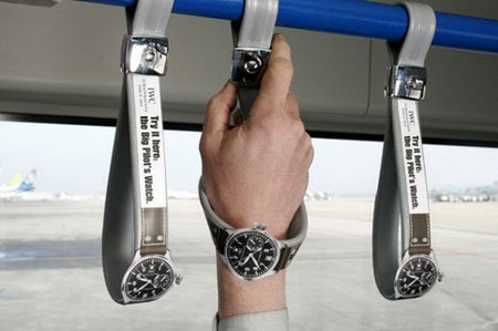 watches - creative advertising - 2