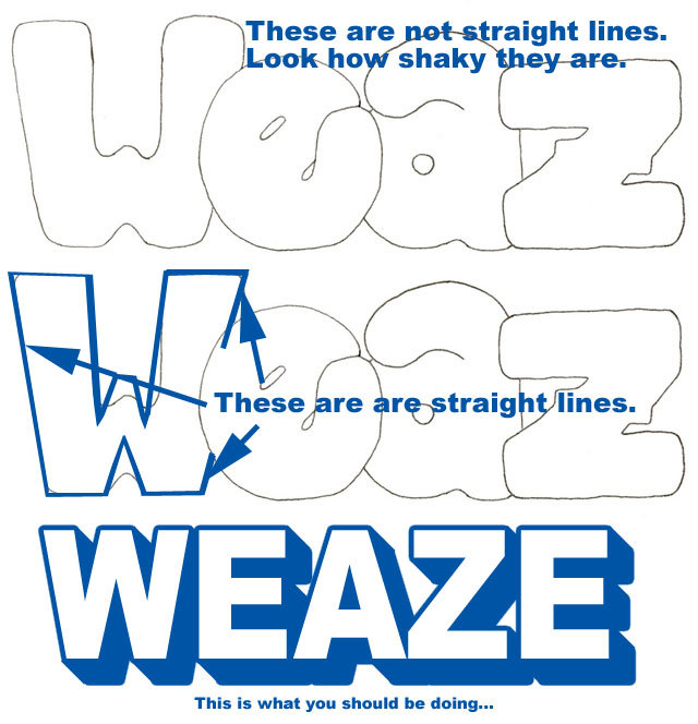 weasezink1outline - the ultimate graffiti guide