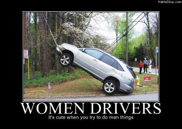 women drivers48 - best motivational posters