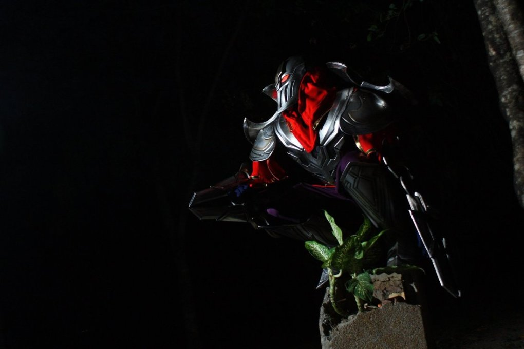 zed - awesome league of legends cosplay
