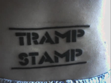 a96801 a501 literelly - crazy tramp stamps!