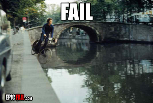 fail bike river