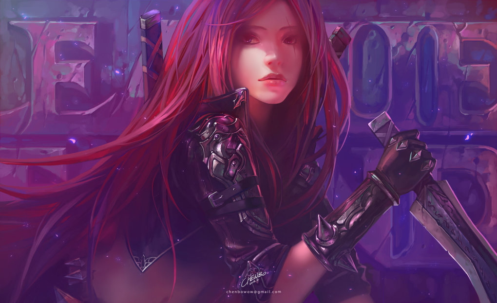 amazing katarina fan art