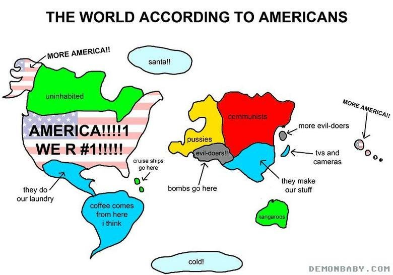 americanworld0 - the world...according to americans