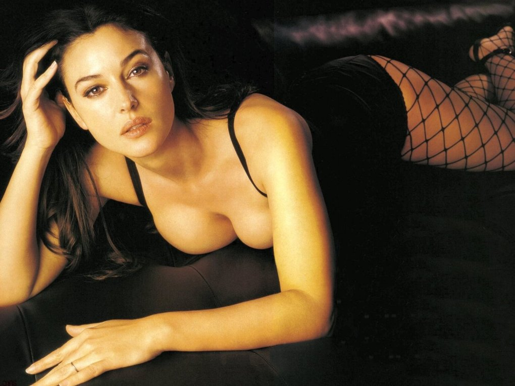 among finer things life monica bellucci