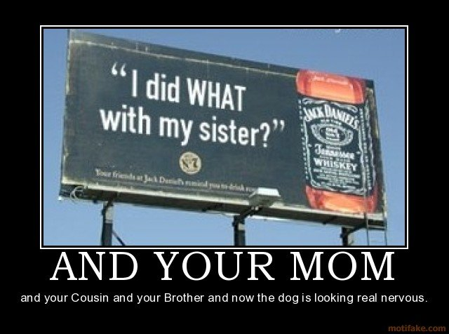 your mom demotivational poster
