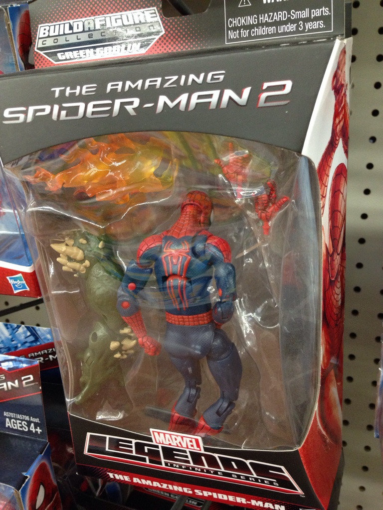 apparently caught spiderman having quotalone timequot toy aisle night