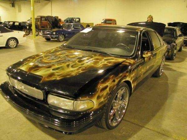 auto006 - $10 million collection of confiscated cars