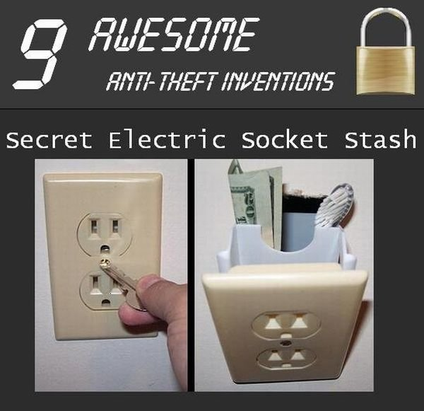 awesome anti theft inventions