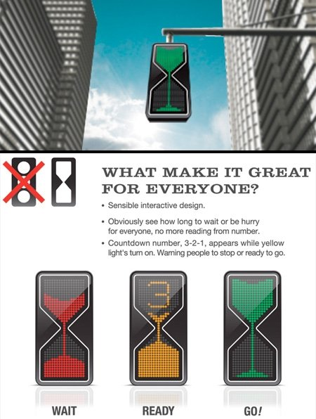 awesome traffic light concept
