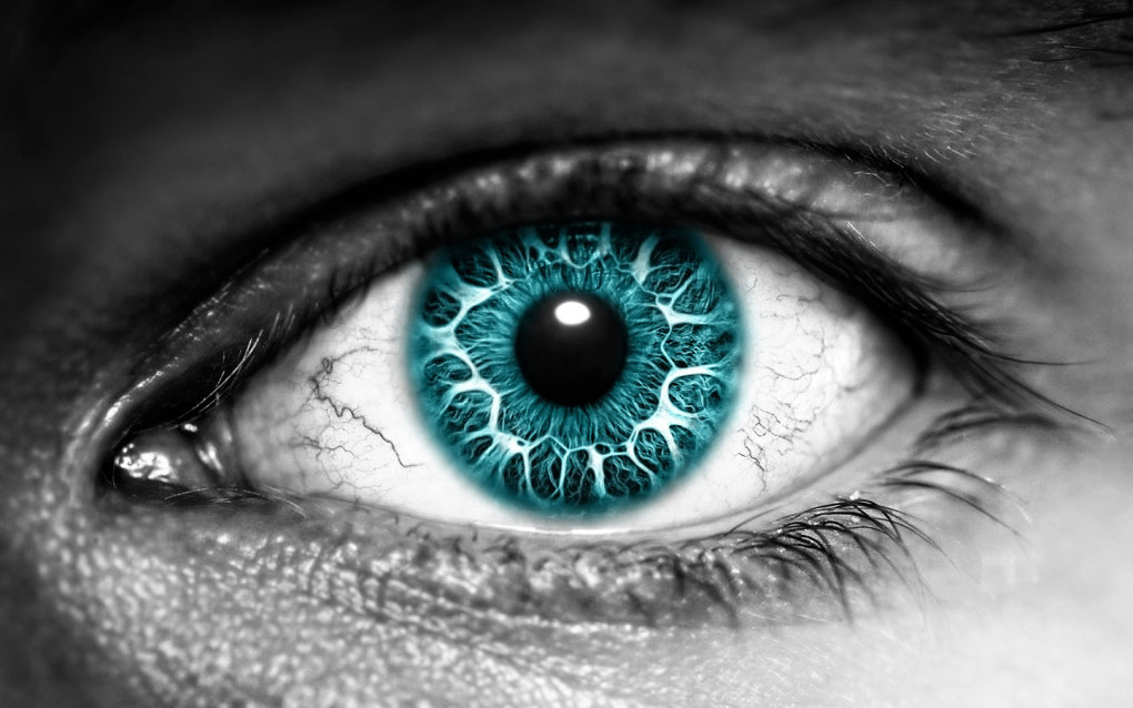 azure eye widescreen wallpaper epic wallpaper collection