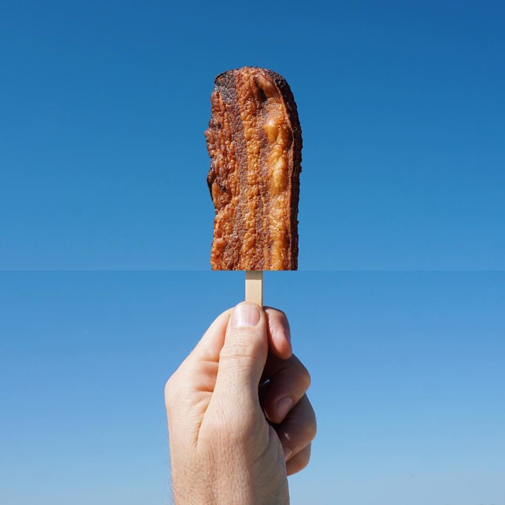bacon popsicle