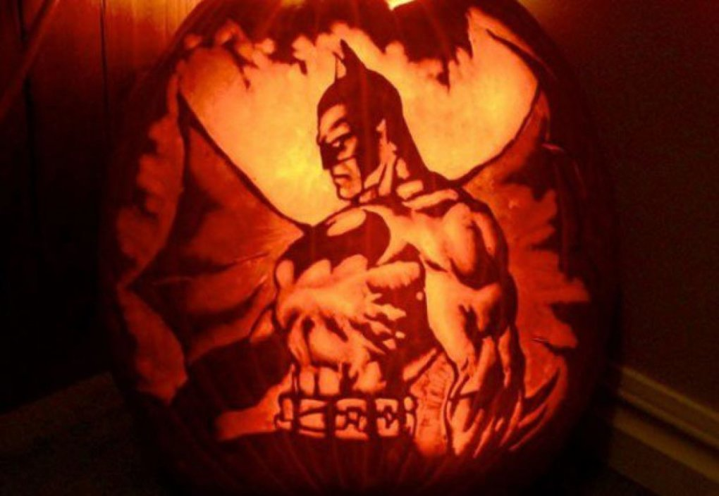 badass carving batman