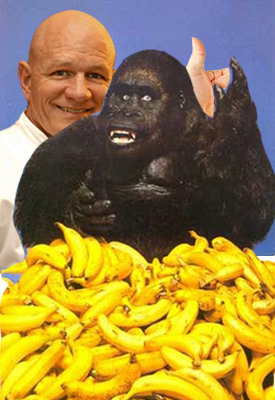bananas - see who you can photoshop my media teachers face on