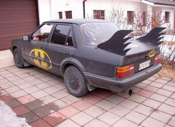 batmobile - real batman