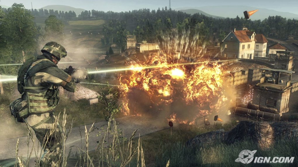battlefield bad company blowing things