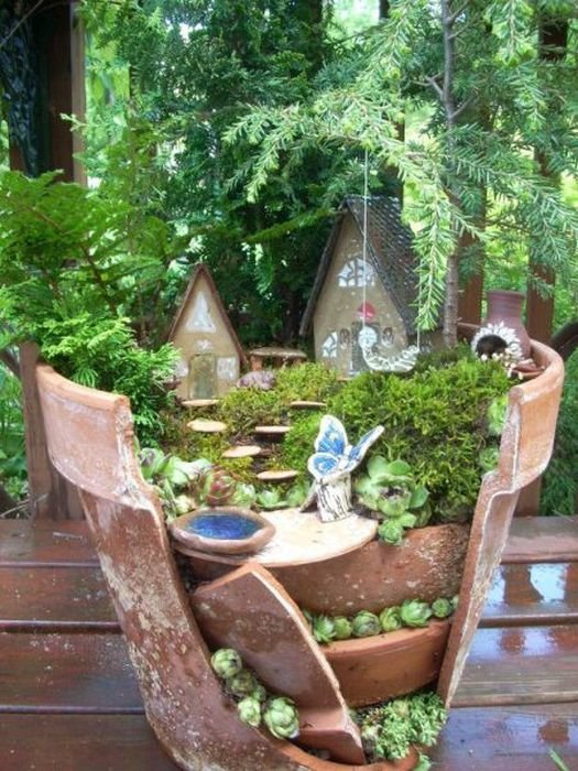 beautiful mini garden