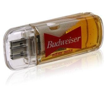 beer filled usb drive gadget