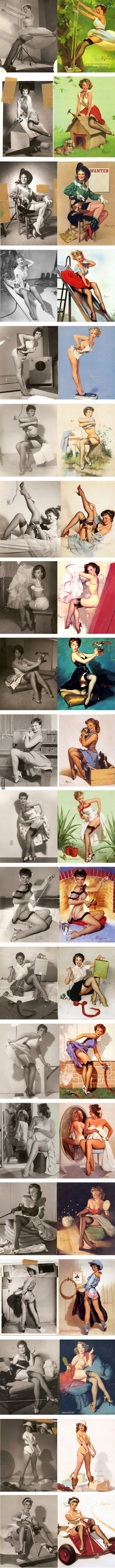 before photoshop there pinup artxpost from rpics