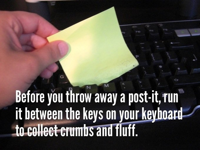 before throw away post