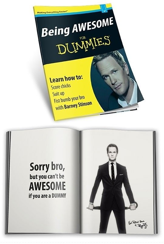 being awesome for dummies
