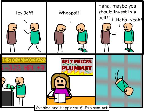 belt - cyanide and happiness collection two