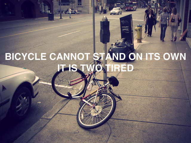 bicycle - funny funny and even some inspirational.