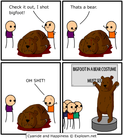 bigfootbear2 - more cyanide and happiness