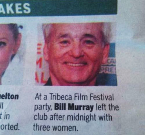 bill murray awesome