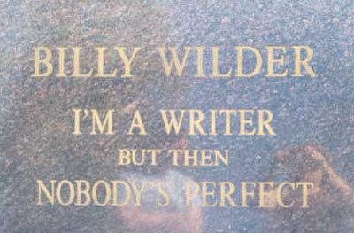 billywilder - funny tombstones