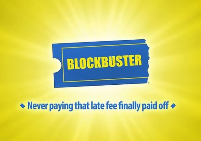 blockbuster - if company logos would tell us truth