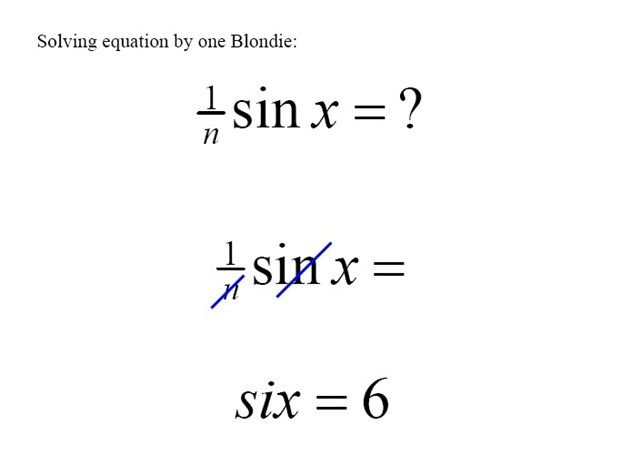 blonde equation