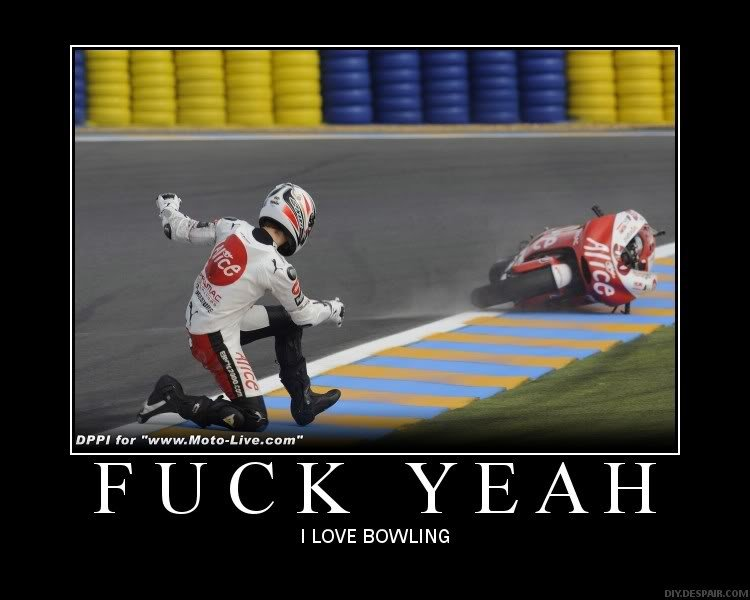 bowling - motivational posters... yes more
