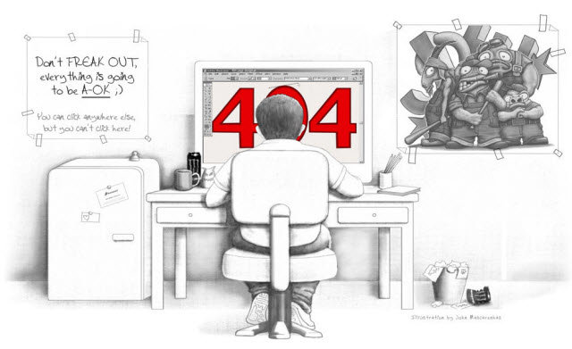 brandstack - some of the best 404's