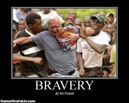 brave - help demotivational posters