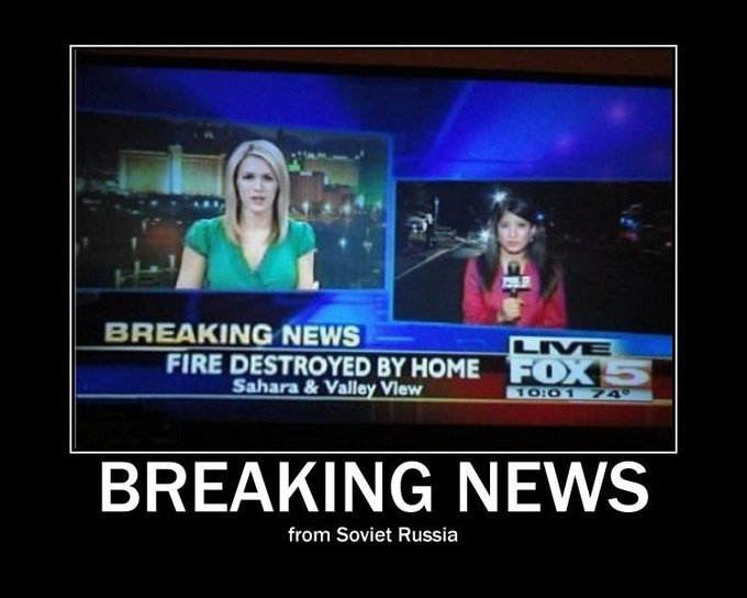 breaking news from soviet russia