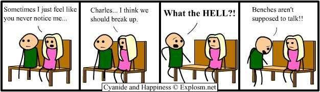 breakup1 - 4 more cyanide and happiness comics