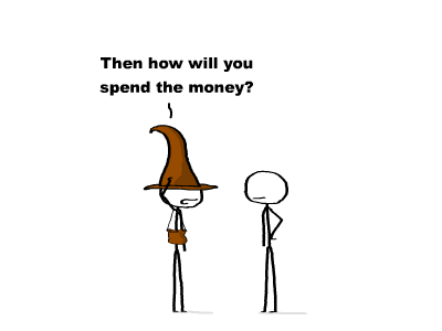brown wallet wizard