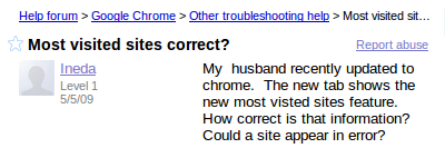 browser troubleshooting