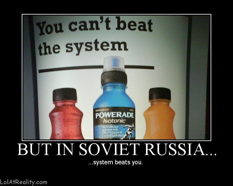 but soviet russia