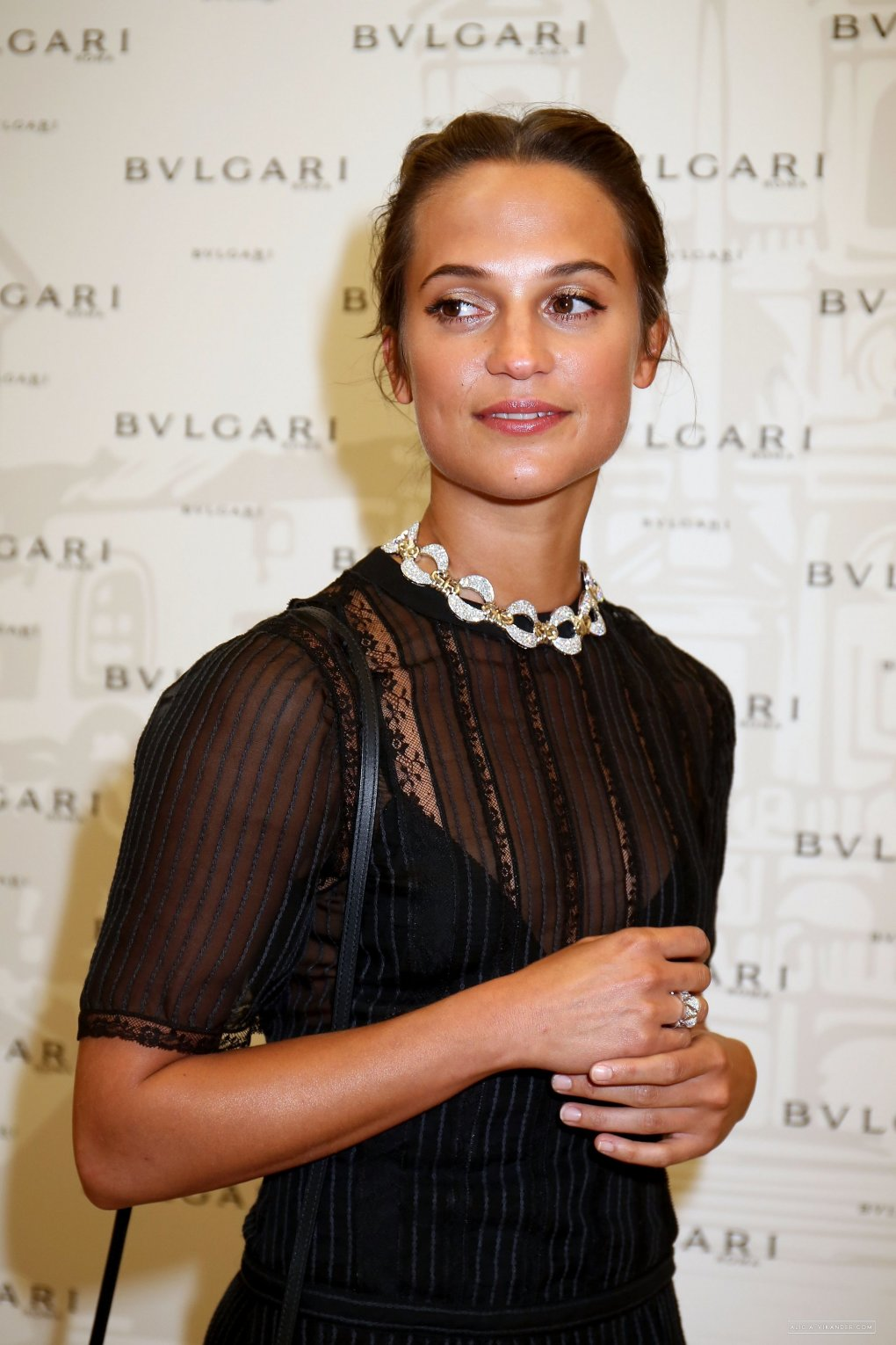 bvlgari tribute spanish steps opening event