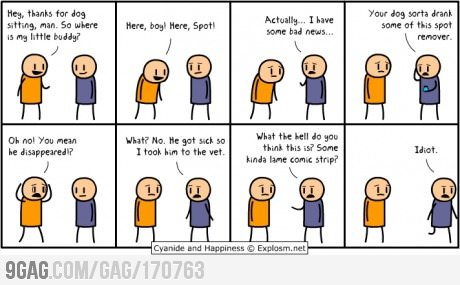 c - cyanide and happiness overload!